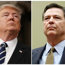 Donald Trump i James Comey