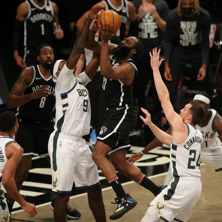 NBA: Milwaukee Bucks at Brooklyn Nets
