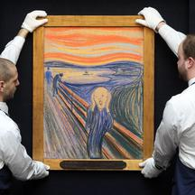 Munch's The Scream auction